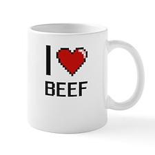 I Love Beef Digitial Design Mugs