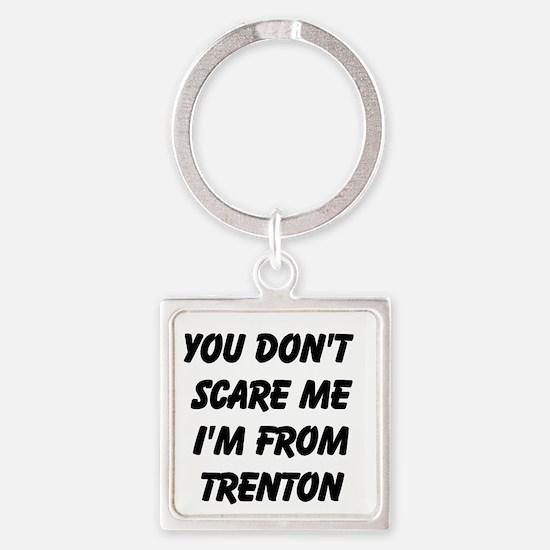 Im From Trenton Keychains