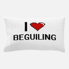 I Love Beguiling Digitial Design Pillow Case
