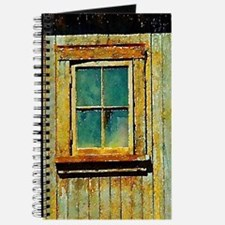 rustic country house window Journal