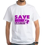 Climate change Mens White T-shirts