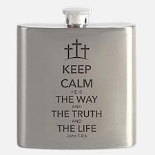 Way Truth Life Flask