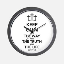 Way Truth Life Wall Clock