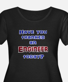 Thank Engineer Plus Size T-Shirt