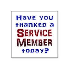 Thank Service Sticker