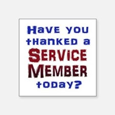 Thank Service Sticker