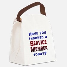 Thank Service Canvas Lunch Bag