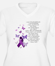 I am Strong Plus Size T-Shirt