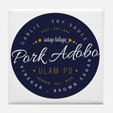 Pork Adobo Tile Coaster