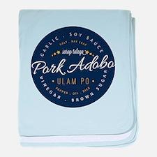 Pork Adobo baby blanket