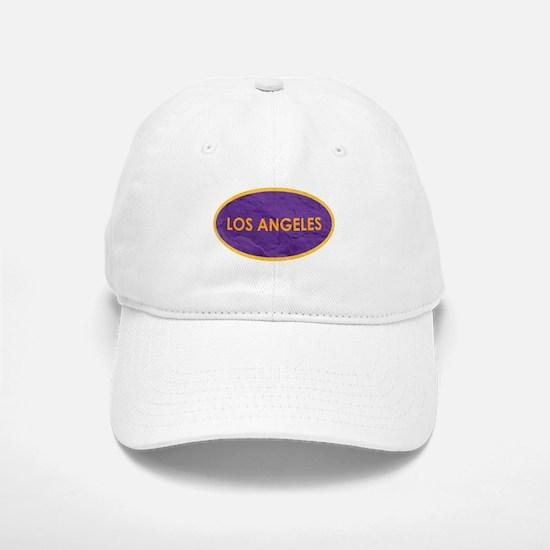 Los Angeles Purple Stone Baseball Baseball Cap