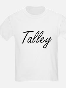 Talley surname artistic design T-Shirt
