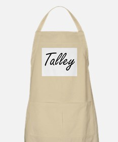 Talley surname artistic design Apron