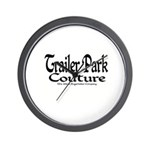 Trailer Park Couture Wall Clock