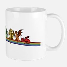 Rainbow Dragons Mugs