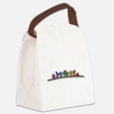 Rainbow Dragons Canvas Lunch Bag