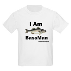 I am BassMan Kids T-Shirt