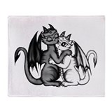 Dragon couple Blankets