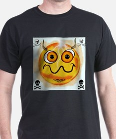 Smiley Emoticon From Hell T-Shirt