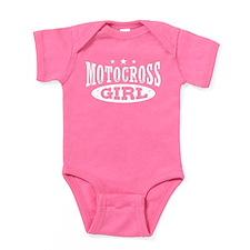 Motocross Girl Baby Bodysuit