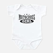 Motocross Girl Infant Bodysuit