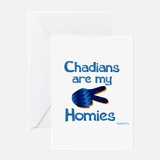 Chadians Greeting Card