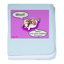 Woof! baby blanket