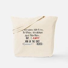 Hilarious Nurse Quote Tote Bag