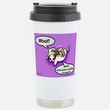 Woof! Stainless Steel Travel Mug