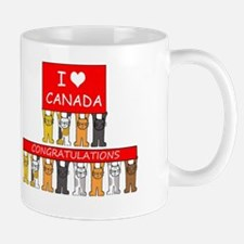 I love Canada Congratulations Mug