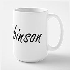 Robinson surname artistic design Mugs