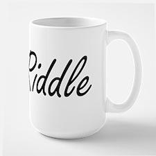 Riddle surname artistic design Mugs