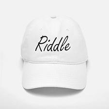 Riddle surname artistic design Cap