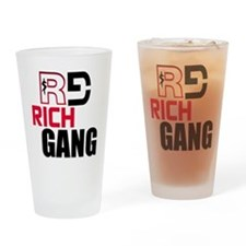 RICH GANG Drinking Glass