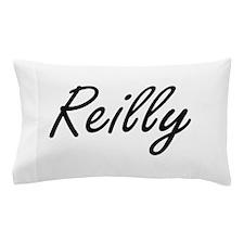 Reilly surname artistic design Pillow Case