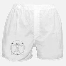 Da Vinci Vitruvian Man Boxer Shorts