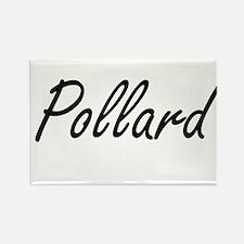 Pollard surname artistic design Magnets