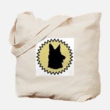 German Shepherd (seal) Tote Bag