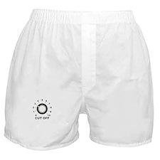 Cut Off Boxer Shorts
