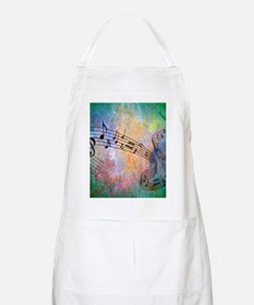 Abstract Music Apron