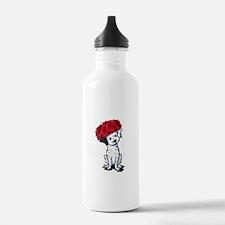 KiniArt Dalmatian In R Water Bottle