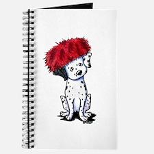 KiniArt Dalmatian In Red Journal