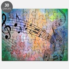 Abstract Music Puzzle