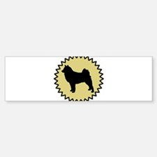 Finnish Lapphund (seal) Bumper Bumper Bumper Sticker