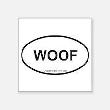"""Unique Lab puppies Square Sticker 3"""" x 3"""""""