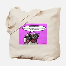 Cool Shih tzu Tote Bag