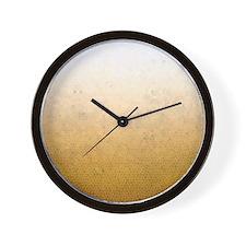 Cute = gold Wall Clock