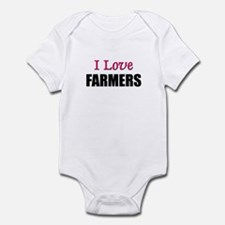 I Love FARMERS Infant Bodysuit