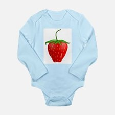 Cute Strawberry Fruit Body Suit
