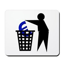 Trash the Euro Mousepad